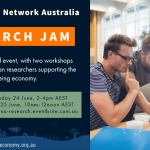 Research Jam – Sharing Research in the New Economy