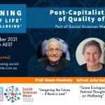 Alternative Visions of Quality of Life, with Noam Chomsky, Ariel Salleh and Gar Alperovitz
